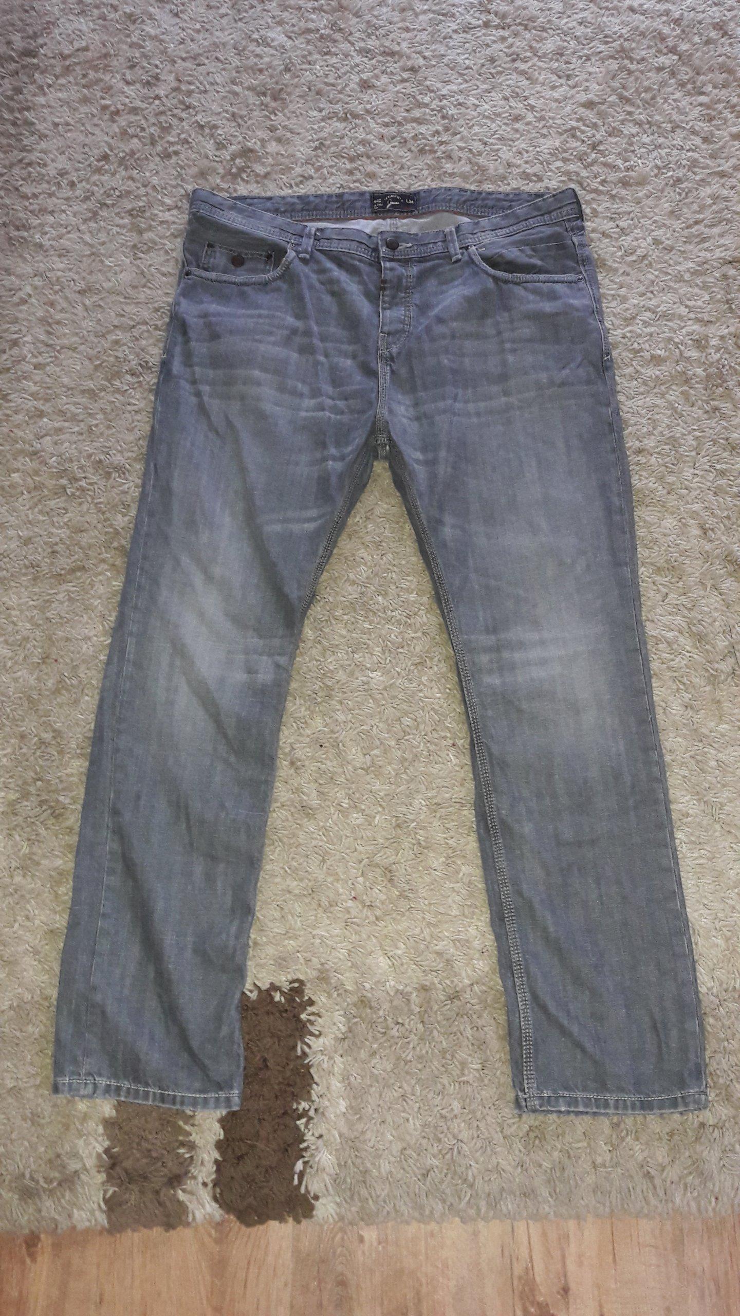 a1d5ed74 Spodnie jeansowe Springfield - 7133836613 - oficjalne archiwum allegro