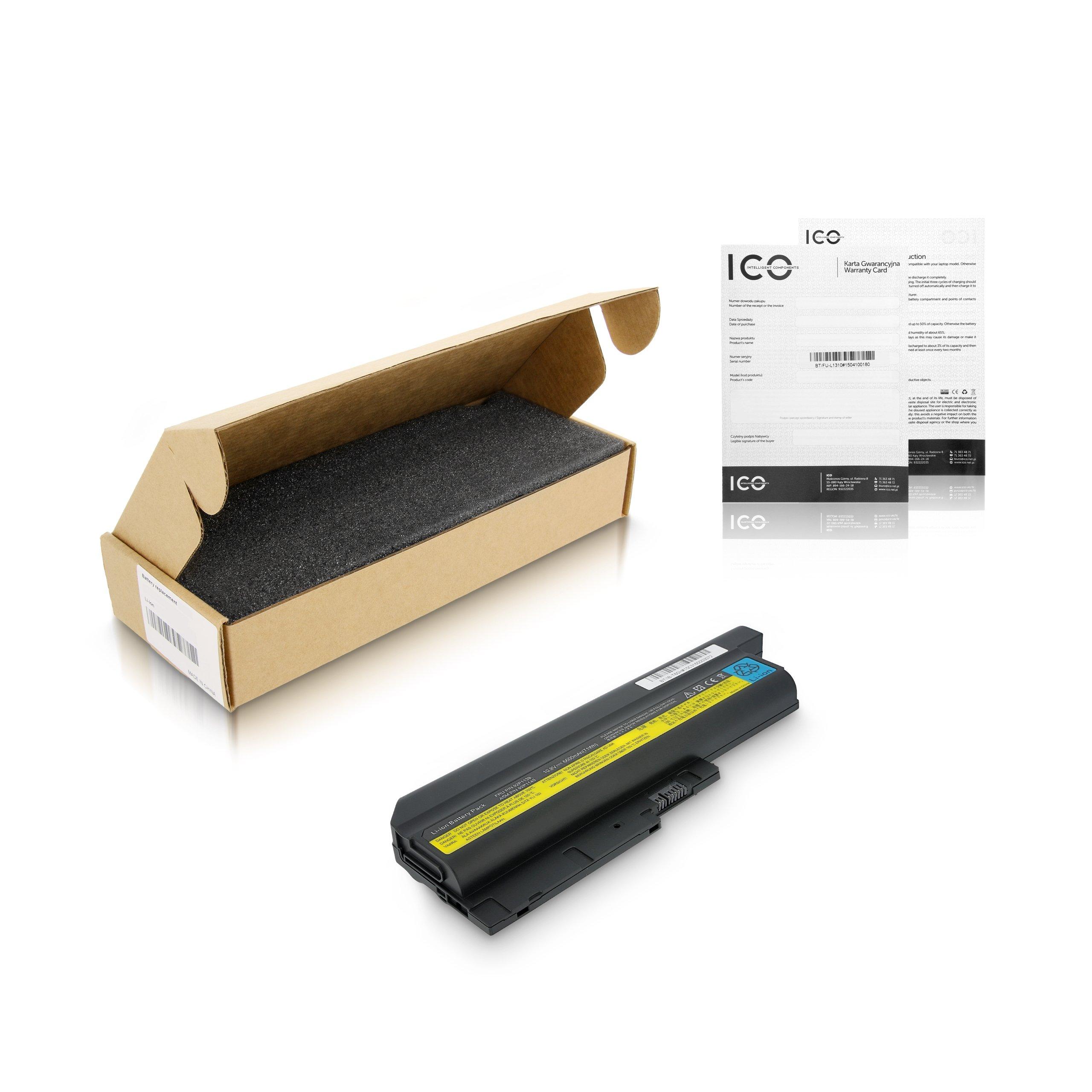 Bateria Lenovo Thinkpad T60p 8742,6600mAh,FV