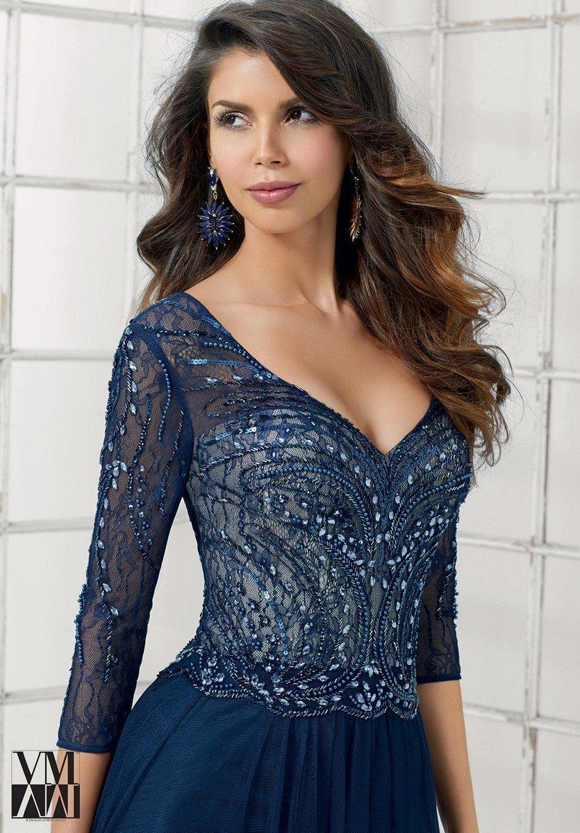 7b3fea702d MGNY Mori Lee VM71119 suknia wieczorowa rozmiar 48 - 6780949202 ...