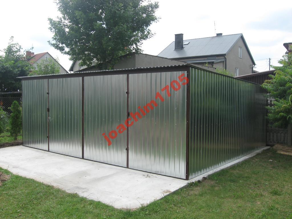 Garaż Blaszane Garaże Blaszaki 6x5 Wielkopolska 6760125176