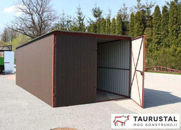 Garaż Blaszany Akryl 3m X 5m 7283921368 Oficjalne Archiwum Allegro