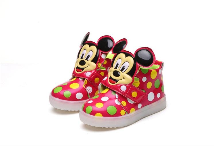 51f4f6b8 Buty dziecięce świecące LED roz. 21 - 30 NOWOŚĆ ! - 7255177300 ...