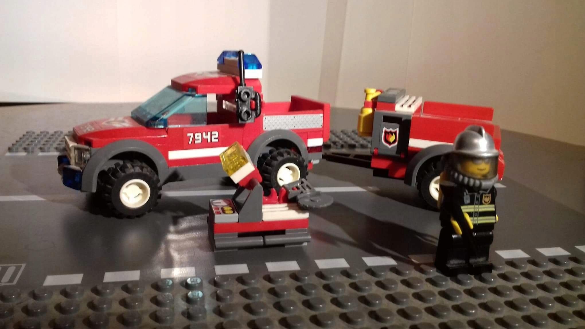 Lego City 7202 Statek Straż Pożarna I 7542 Auto 7566316542