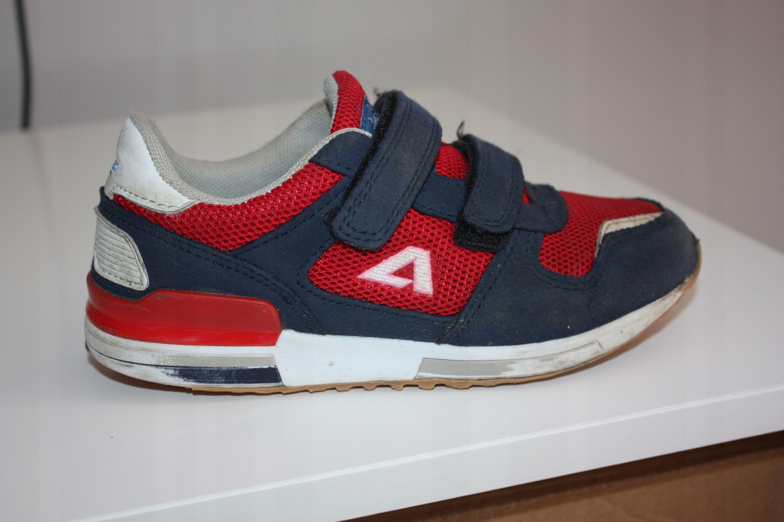 Adidas Adistar Racer. Buty czerwono granatowe | Sport
