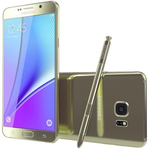SAMSUNG Galaxy N920C Note 5 Gold 64GB NOWY FOLIA