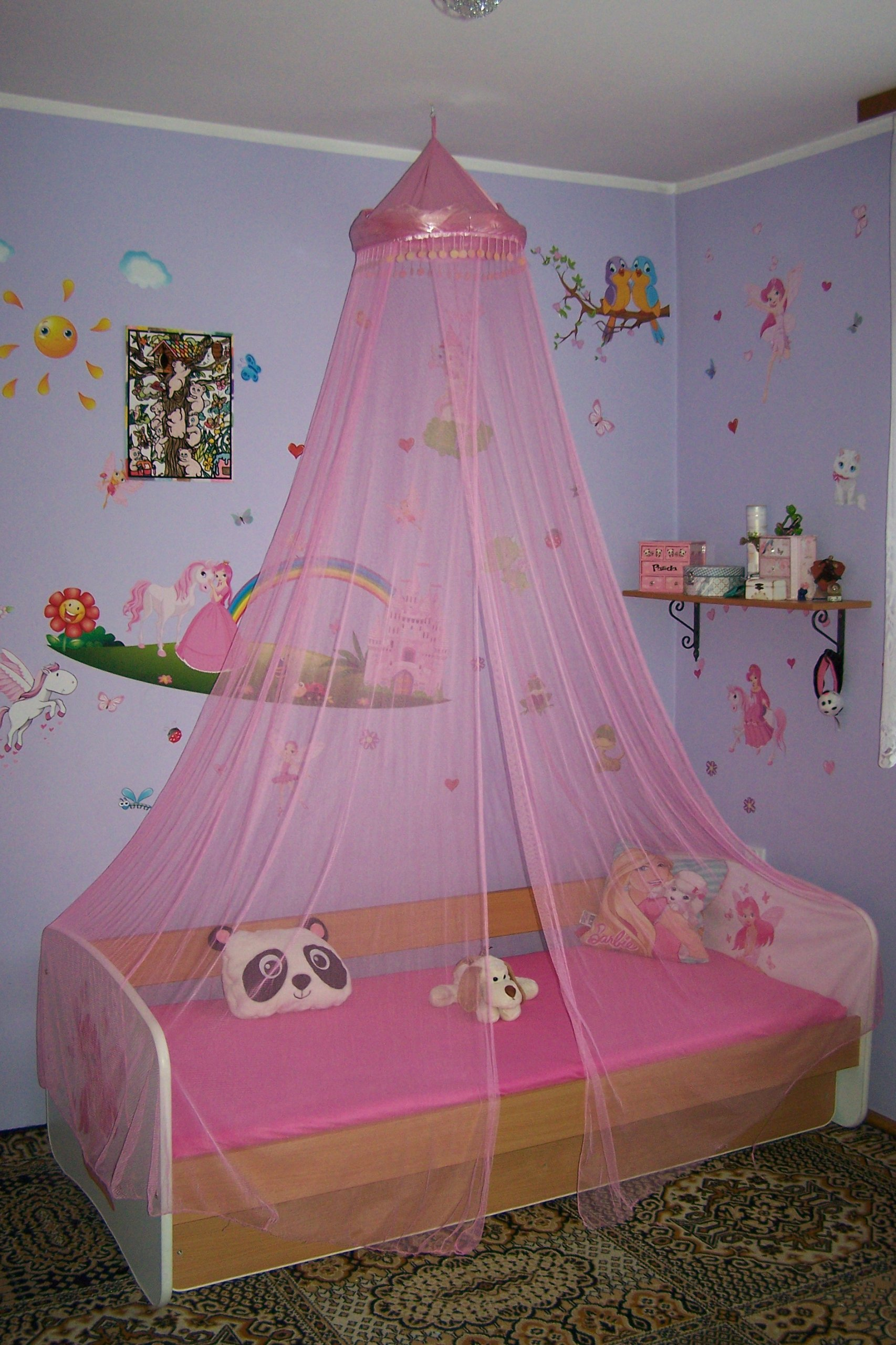 Baldachim Księżniczki Dla Dzieci Dziecięcy łóżko