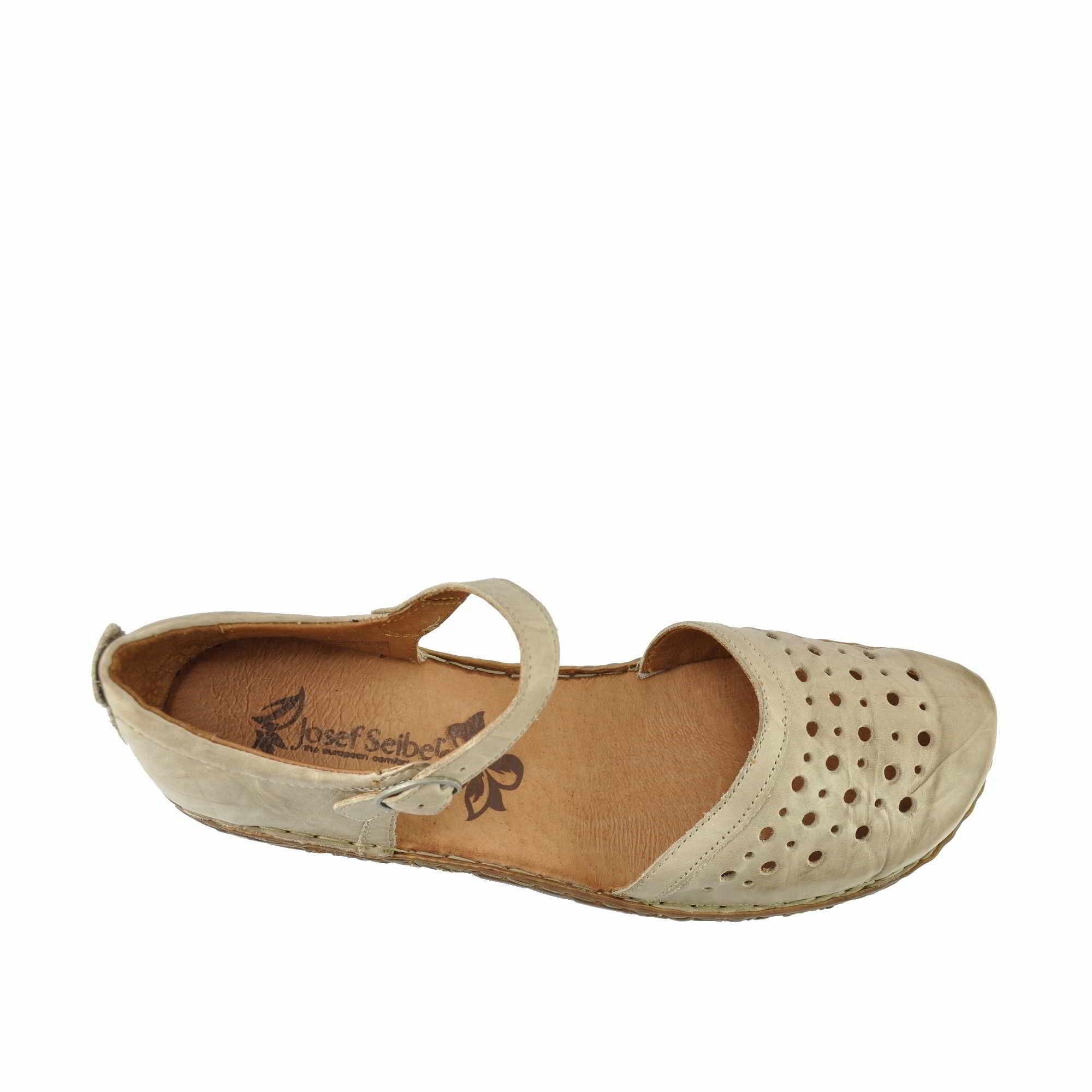 Duże sandały Seibel 230 Rosalie 19 beż 45 29 cm 7239086541