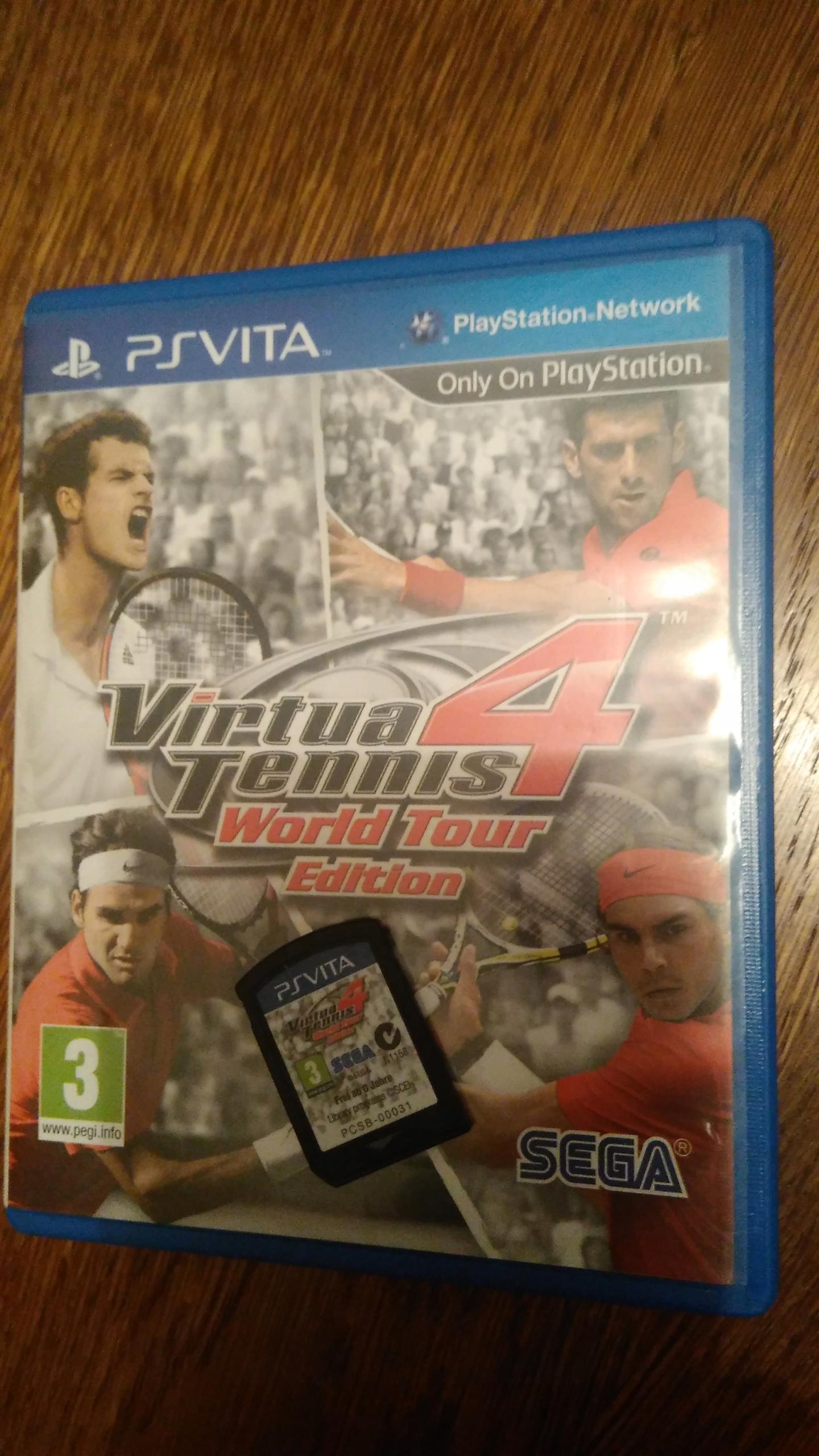 VIRTUA TENNNIS 4 World tour PS VITA