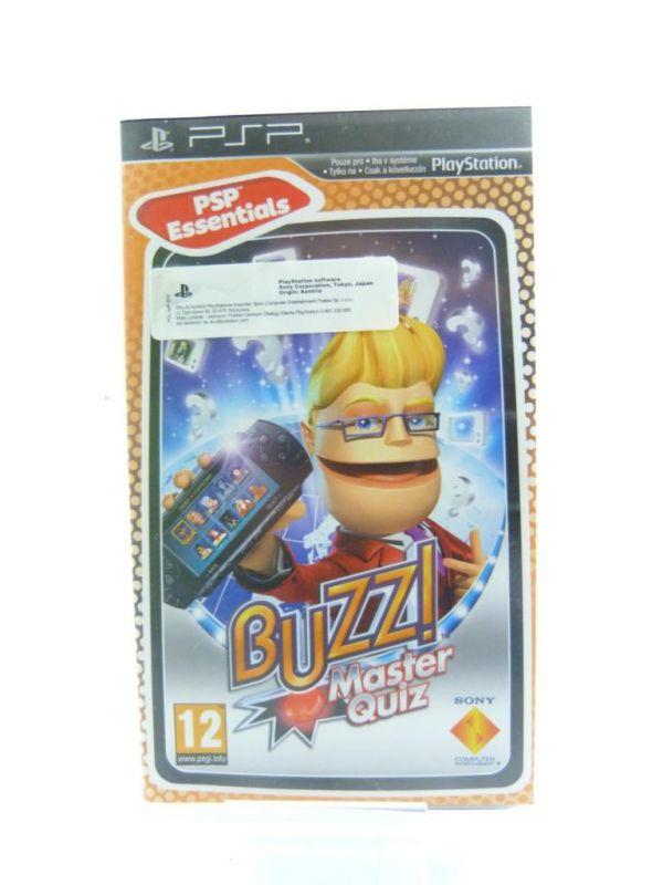 GRA NA PSP BUZZ MASTER QUIZ