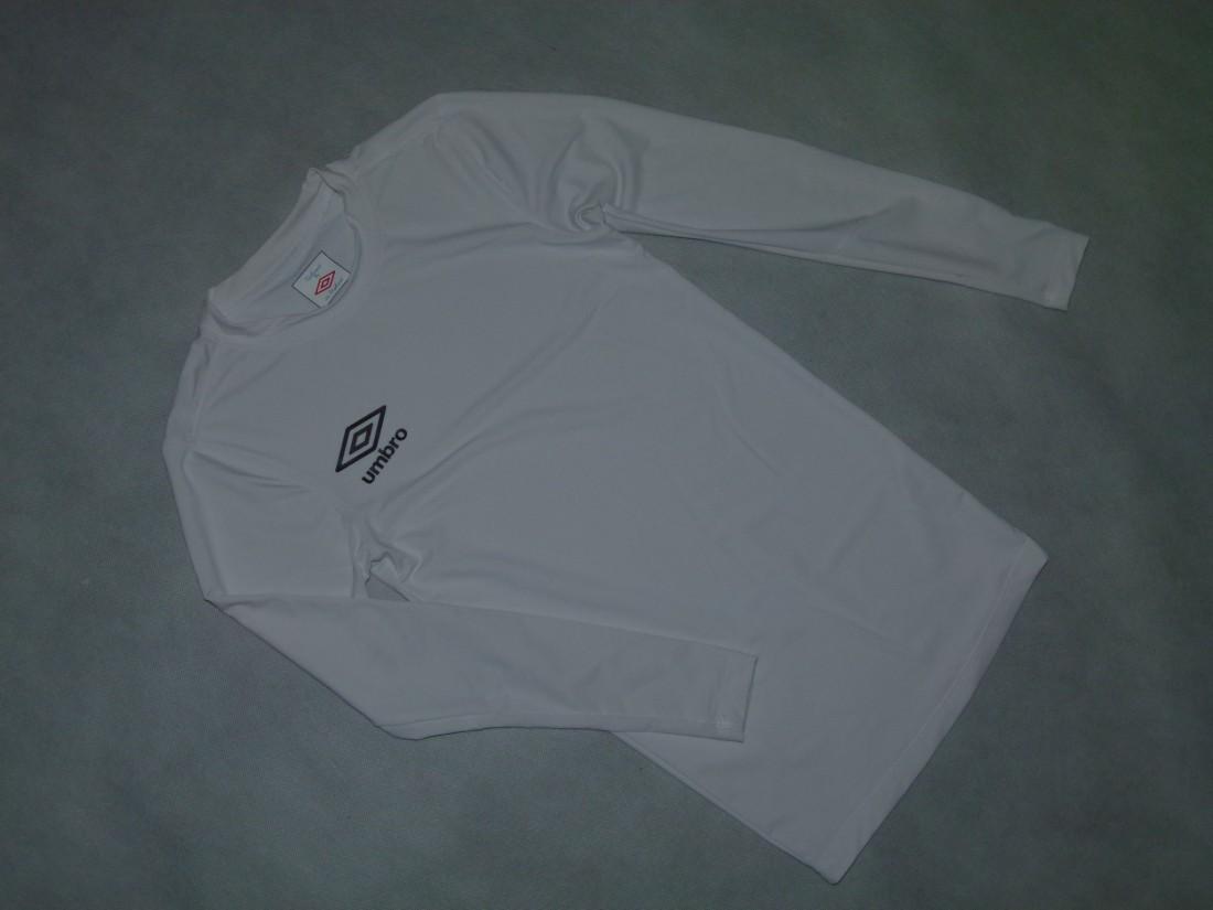 1J-- UMBRO sportowa koszulka długi rękaw / S