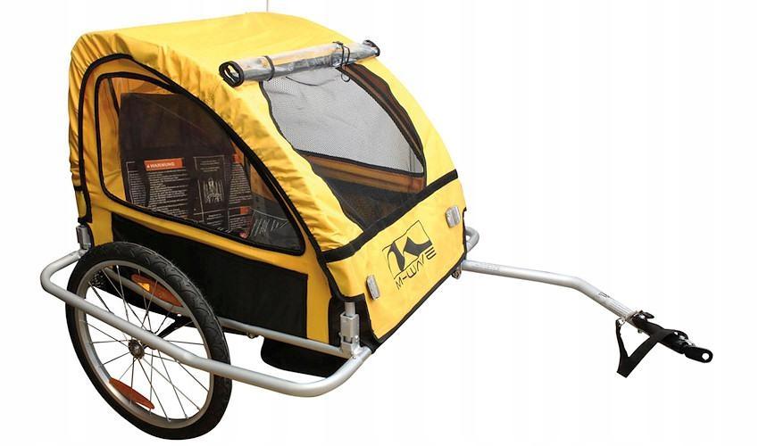 Przyczepka rowerowa M-Wave rama alu komfort