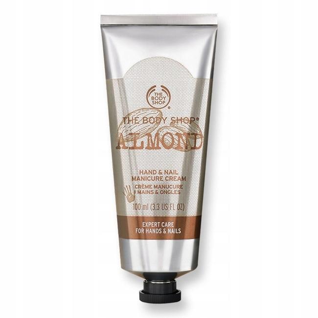 The Body Shop Almond Hand Nail Manicure Cream 100m