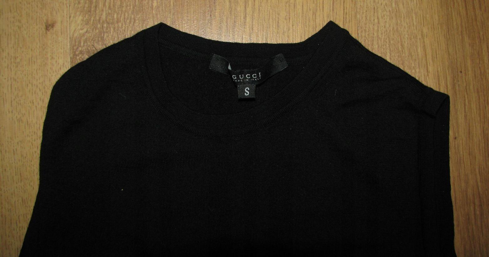 71352d6c59837 GUCCI j Nowa włoska kamizelka sweter bezrękawnik - 7640333102 ...