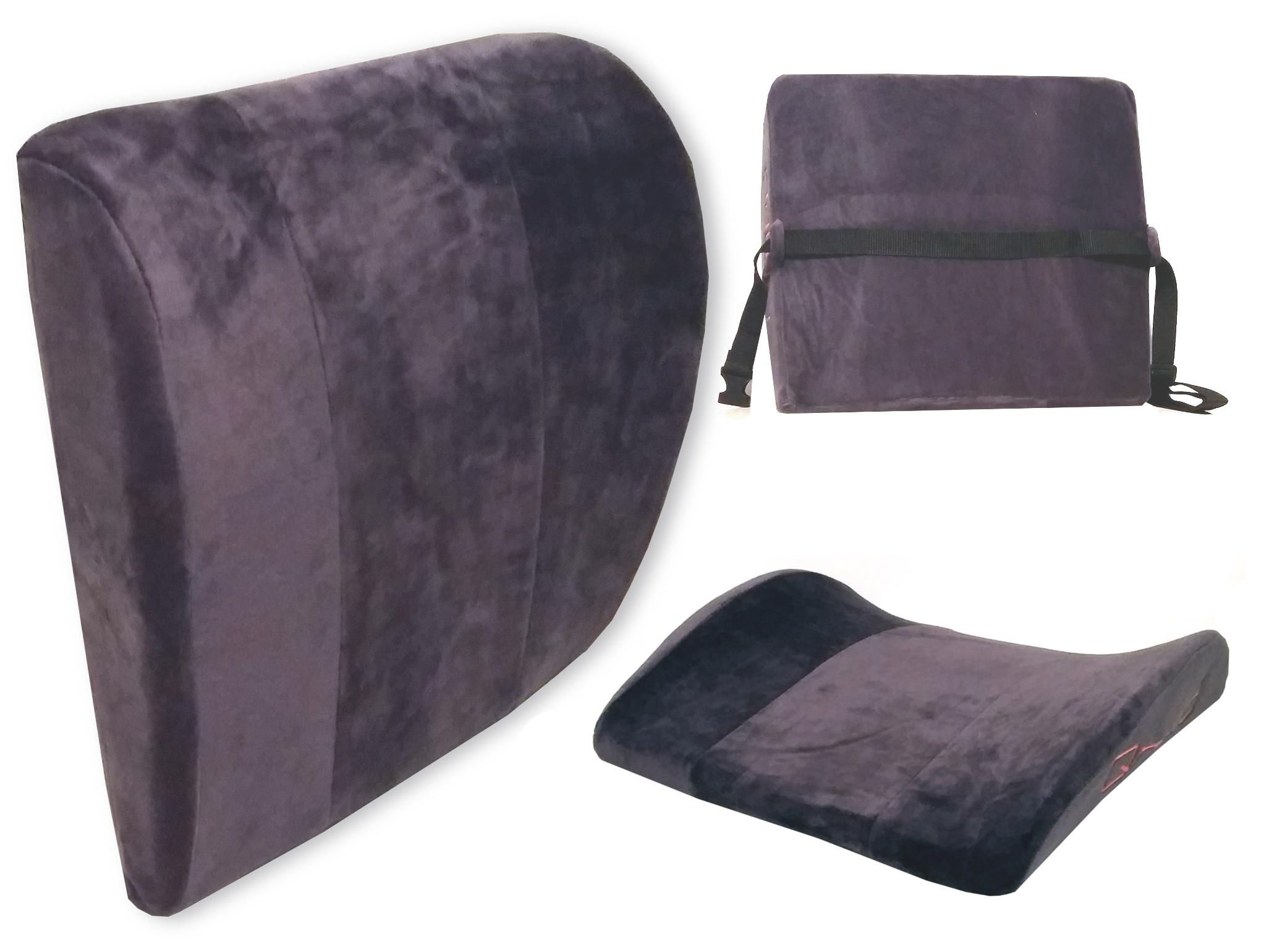 Poduszka Lędźwiowa Ortopedyczna Do Samochodu Fotel