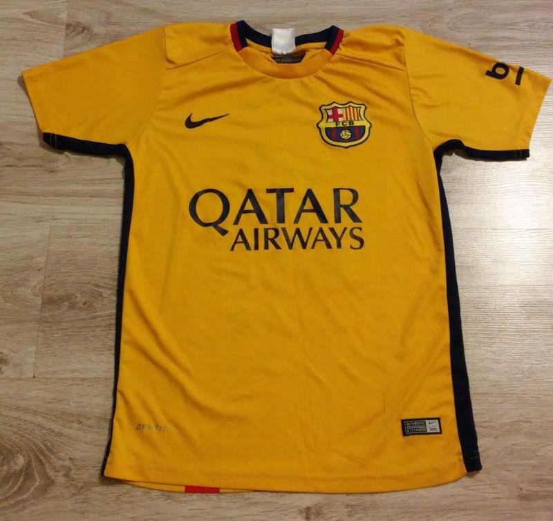 90880a19d Koszulka FC Barcelona Messi dziecięca 152-158 - 7677555361 ...