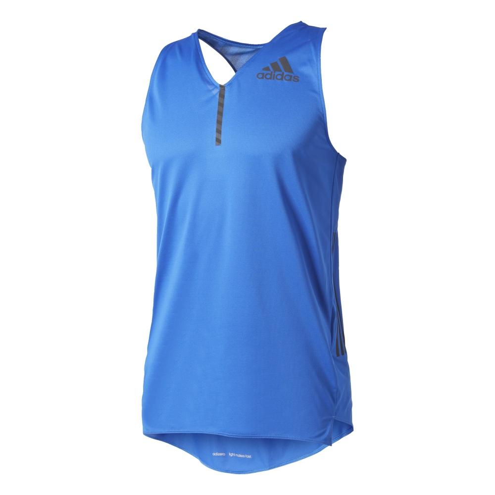 Koszulka adidas Adizero Singlet Men L: 192 198 cm