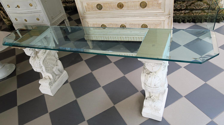 Stół Szkło Dekoracyjne Podstawy 7146900025 Oficjalne