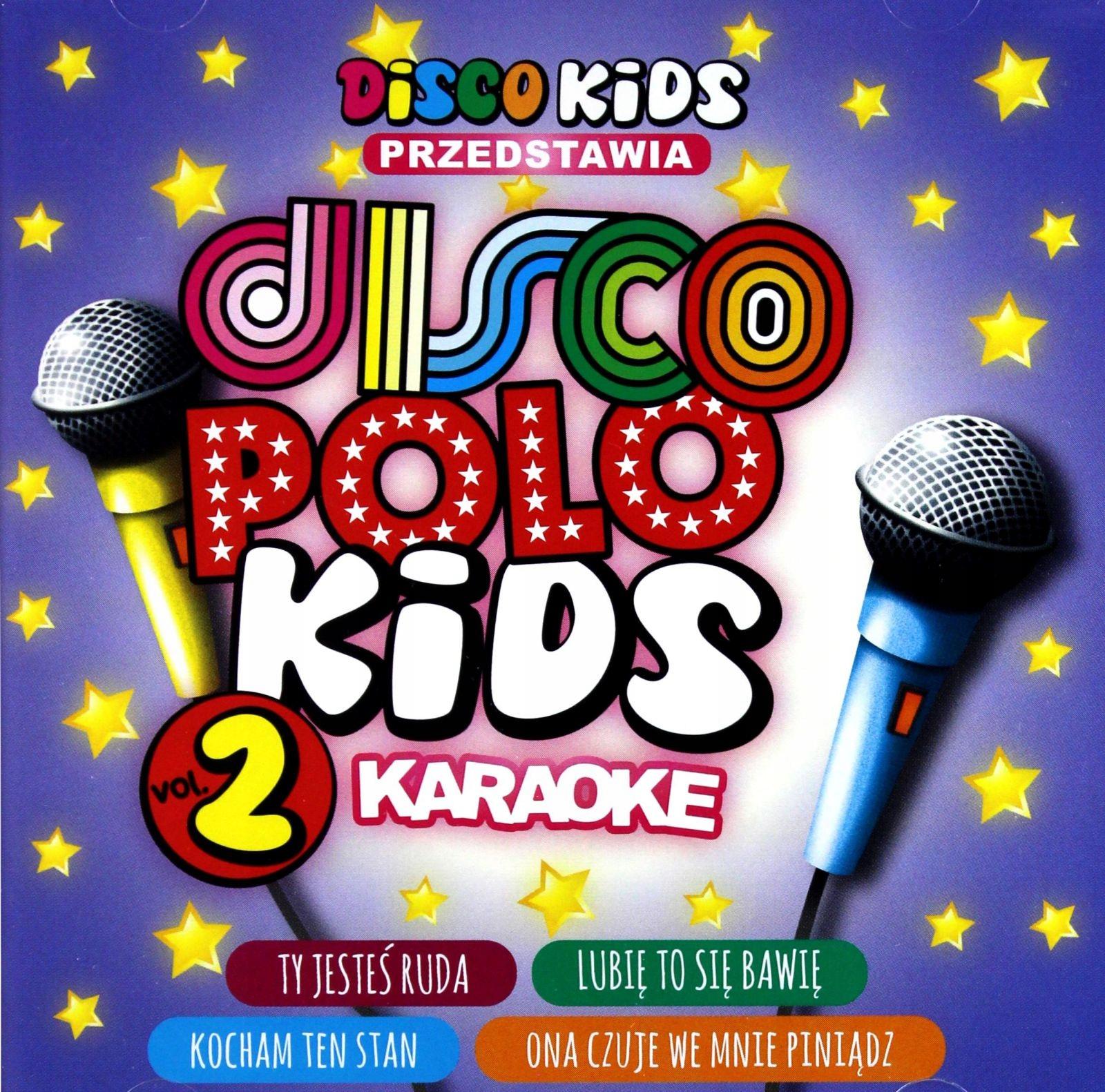 DISCO POLO KIDS VOL. 2 KARAOKE [CD]