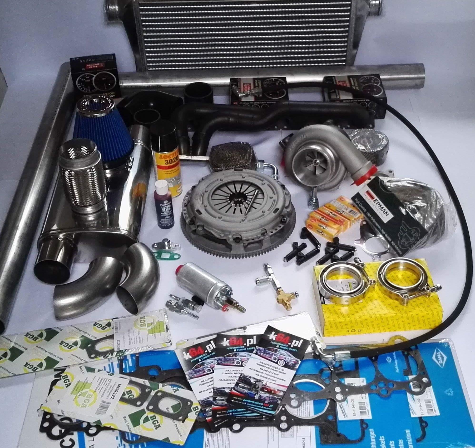 BMW TURBO ZESTAW M54 M52 E46 E39 K64 KIT !!! - 6992007316
