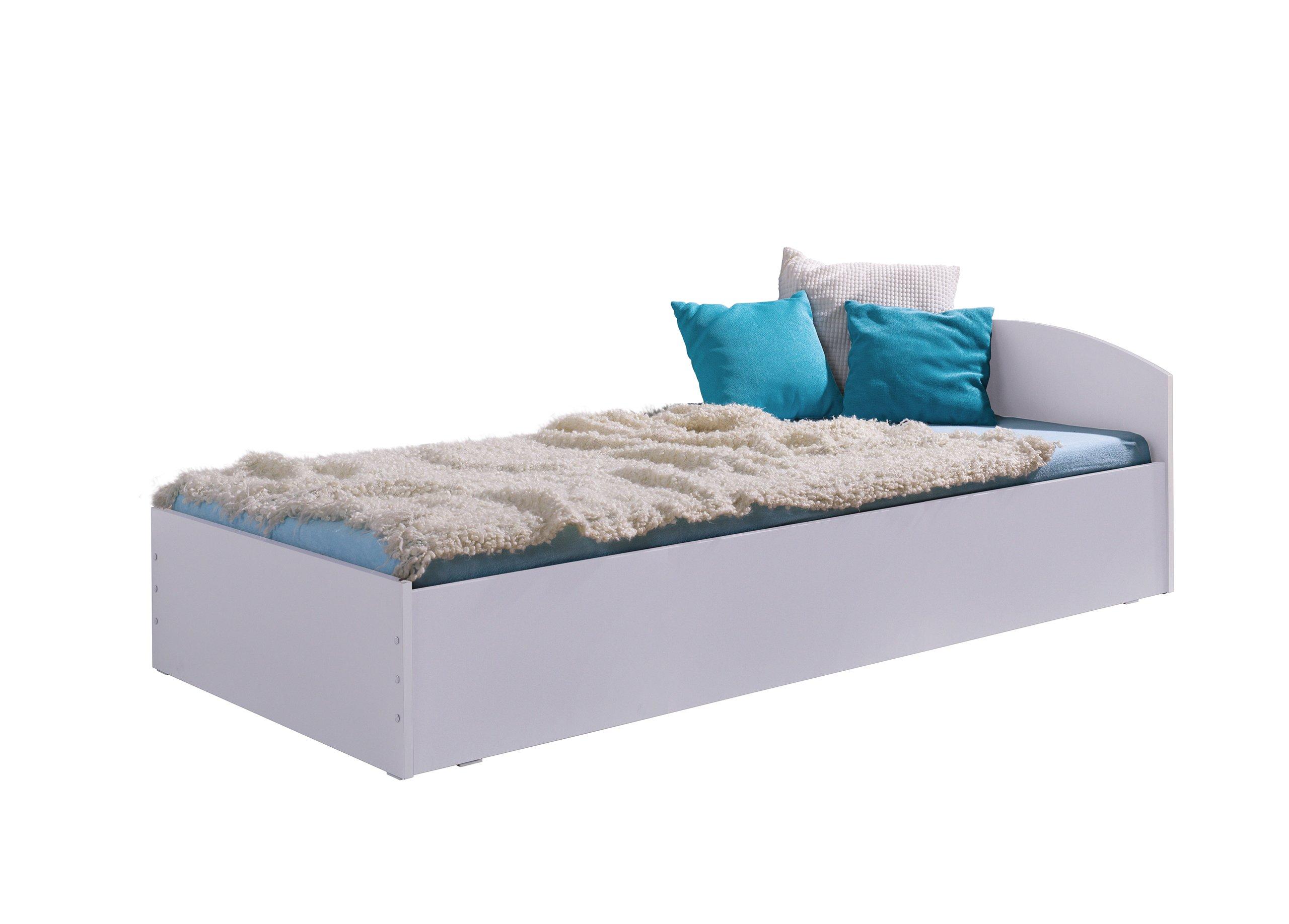 łóżko Młodzieżowe Kornel 200x90 Z Materacem Nowość 7033532164