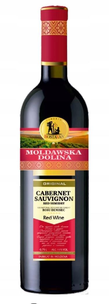 Moldawska Dolina Cabernet Sauvignon Semi Dry !