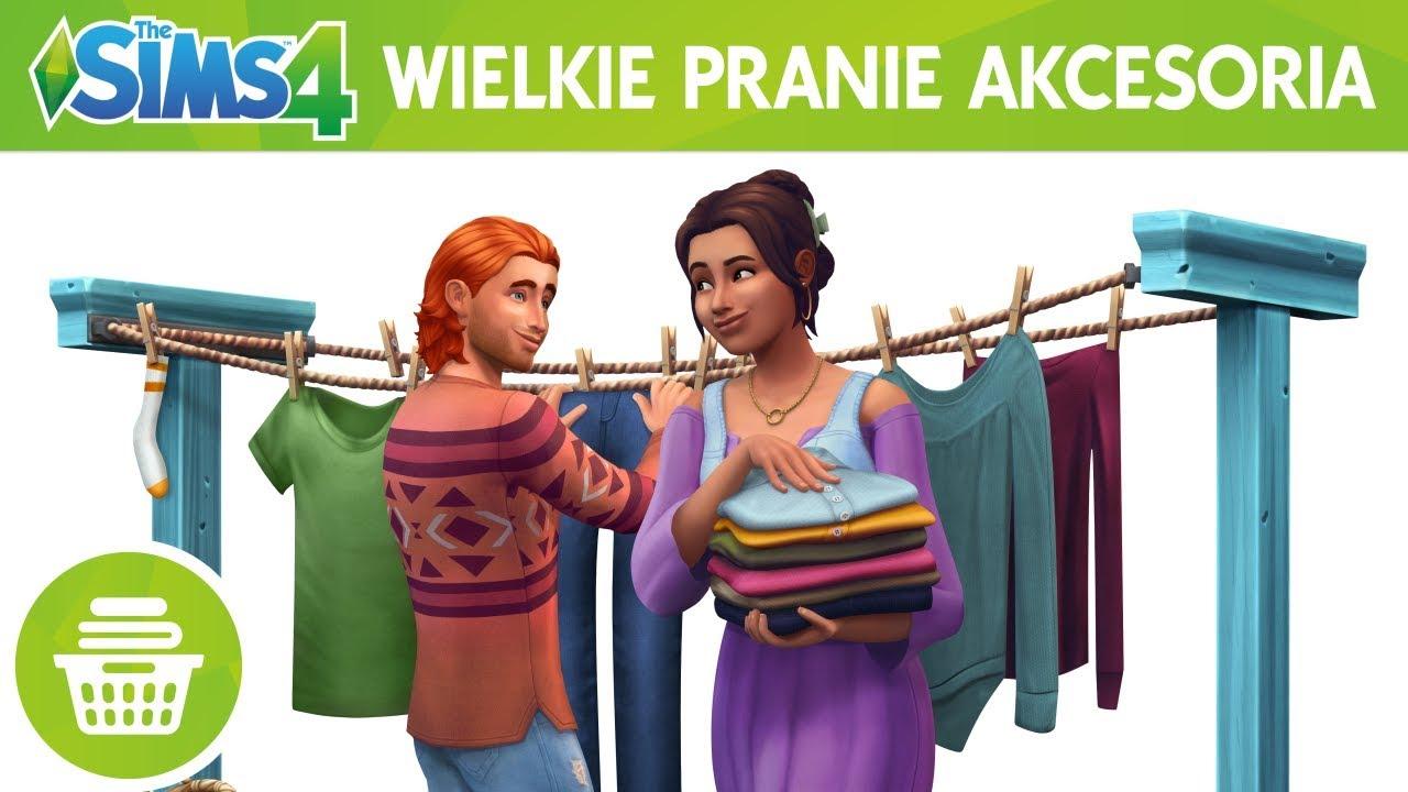 Wielkie Pranie Wszystkie Dodatki The Sims 4 7132181823