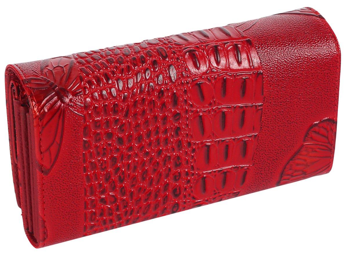 602a5cb57e219 Lorenti wszystkomający skórzany portfel damski box - 7397320049 ...