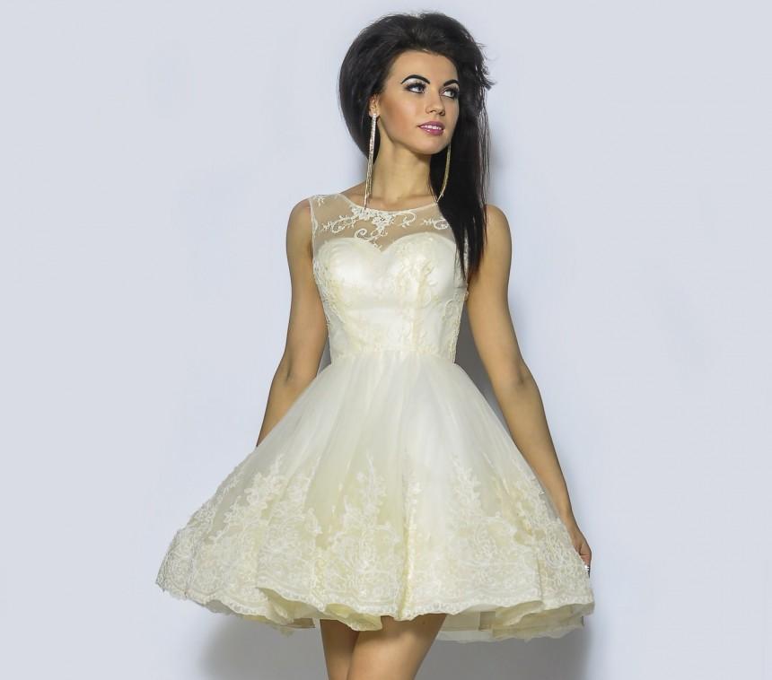 713631c401 Sukienka ślub cywilny Pretty Woman Monica M - 7148525786 - oficjalne ...