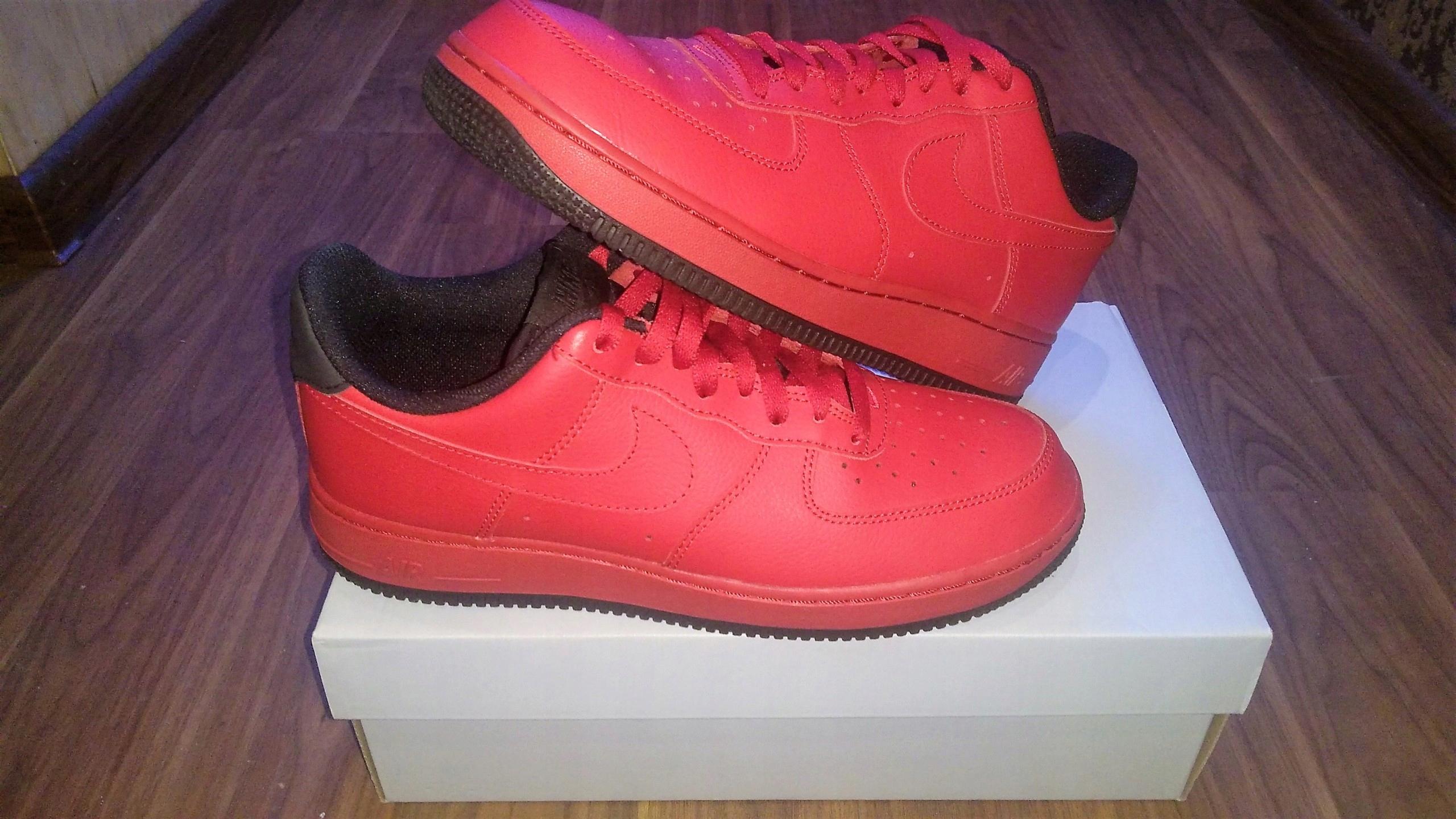 c9da46ba Buty Nike Air Force 1 07 czerwone 41 - 7430265463 - oficjalne ...