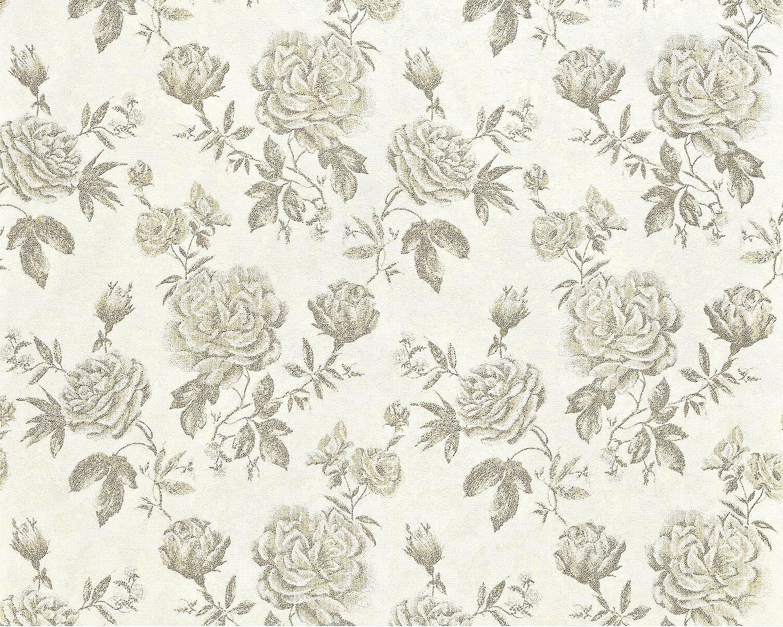 0dbc98da378daa EDEM 687-91 XXL tkane tapety Kwiaty Floral róże - 7512574184 ...