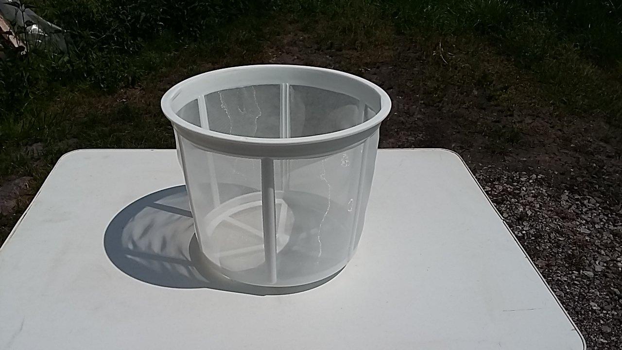 SITO cylindryczne plastykowe fi 300 do miodu