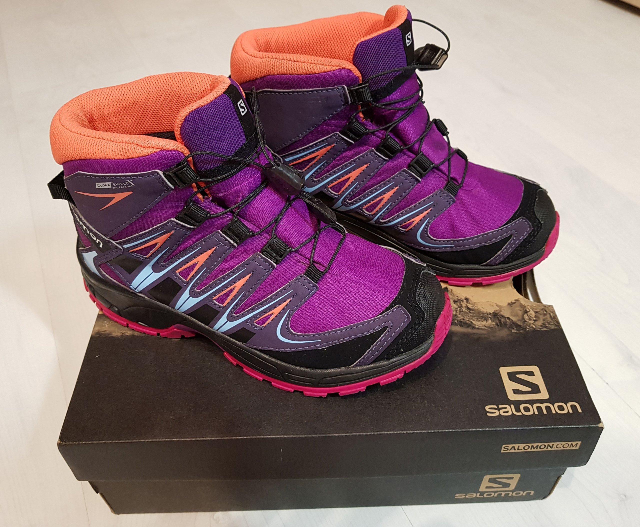 Buty trekkingowe dziecięce SALOMON XA PRO 3D r. 34