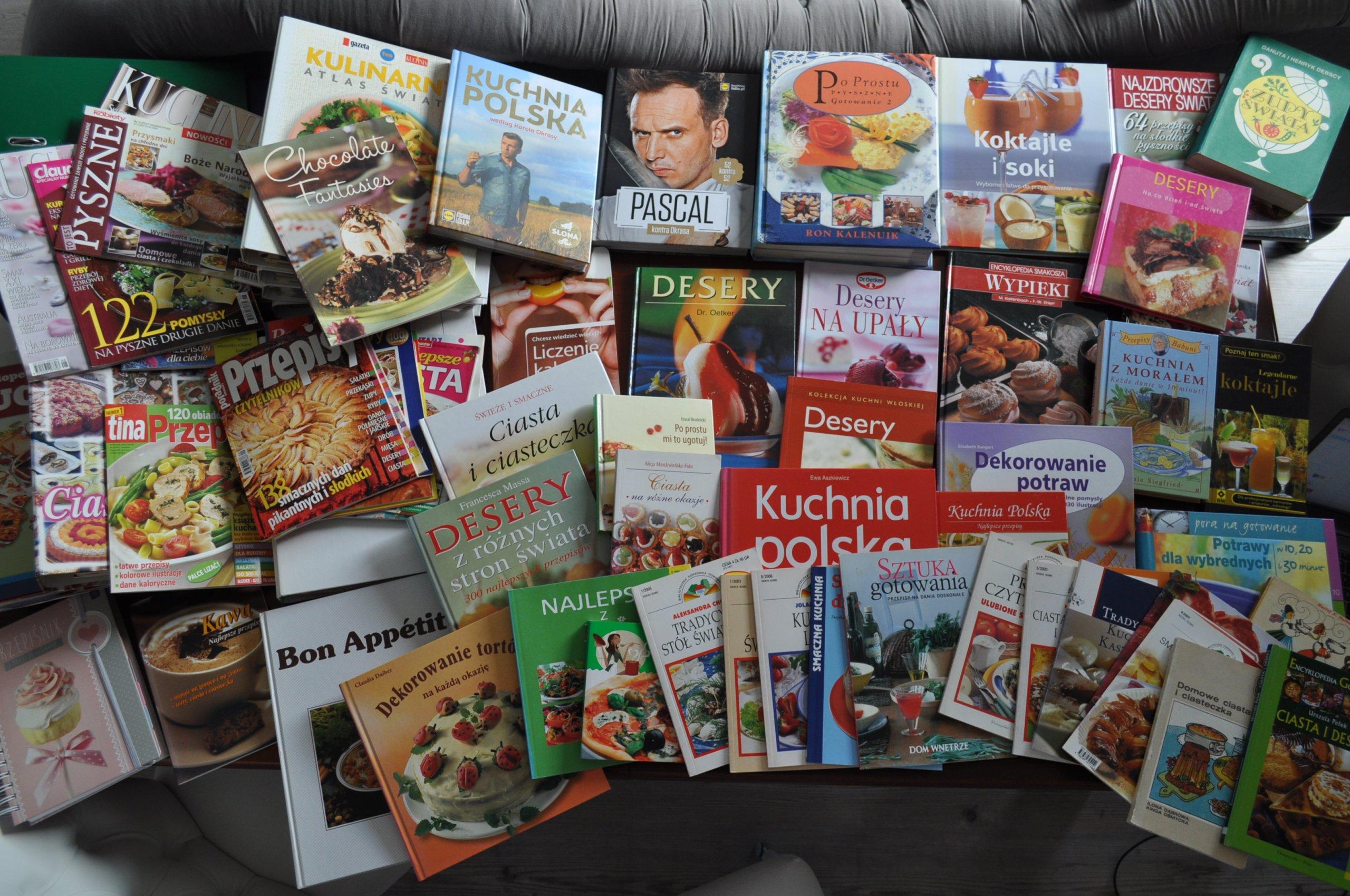 Kolekcja Kulinarna 33 Książki Segregatory I Itp