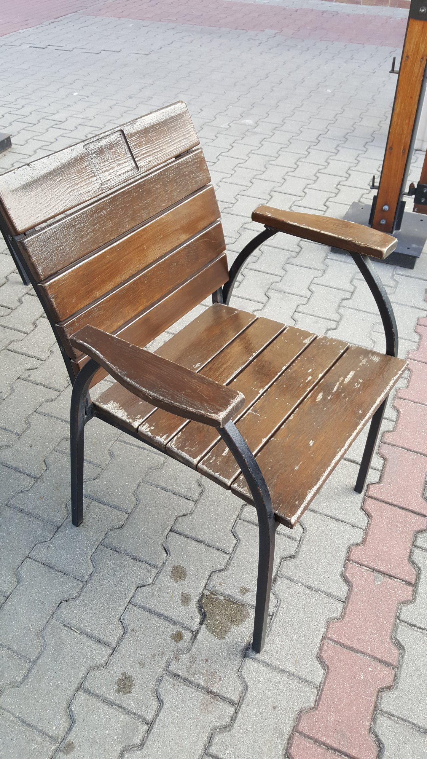 Młodzieńczy Meble ogrodowe ogródek piwny stoły krzesła 3kpl. - 6860954332 JQ19