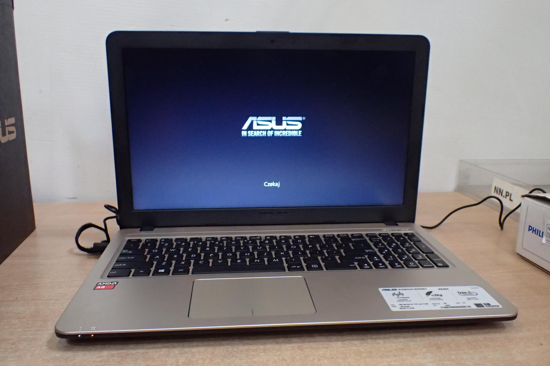 Laptop ASUS X540YA XO106T AMD A8 7410 4 GB 1000 7340208827