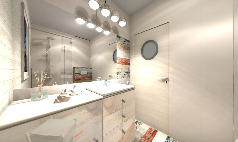 Projekt łazienki X 2 Gratis Wizualizacja 3d 7233263820
