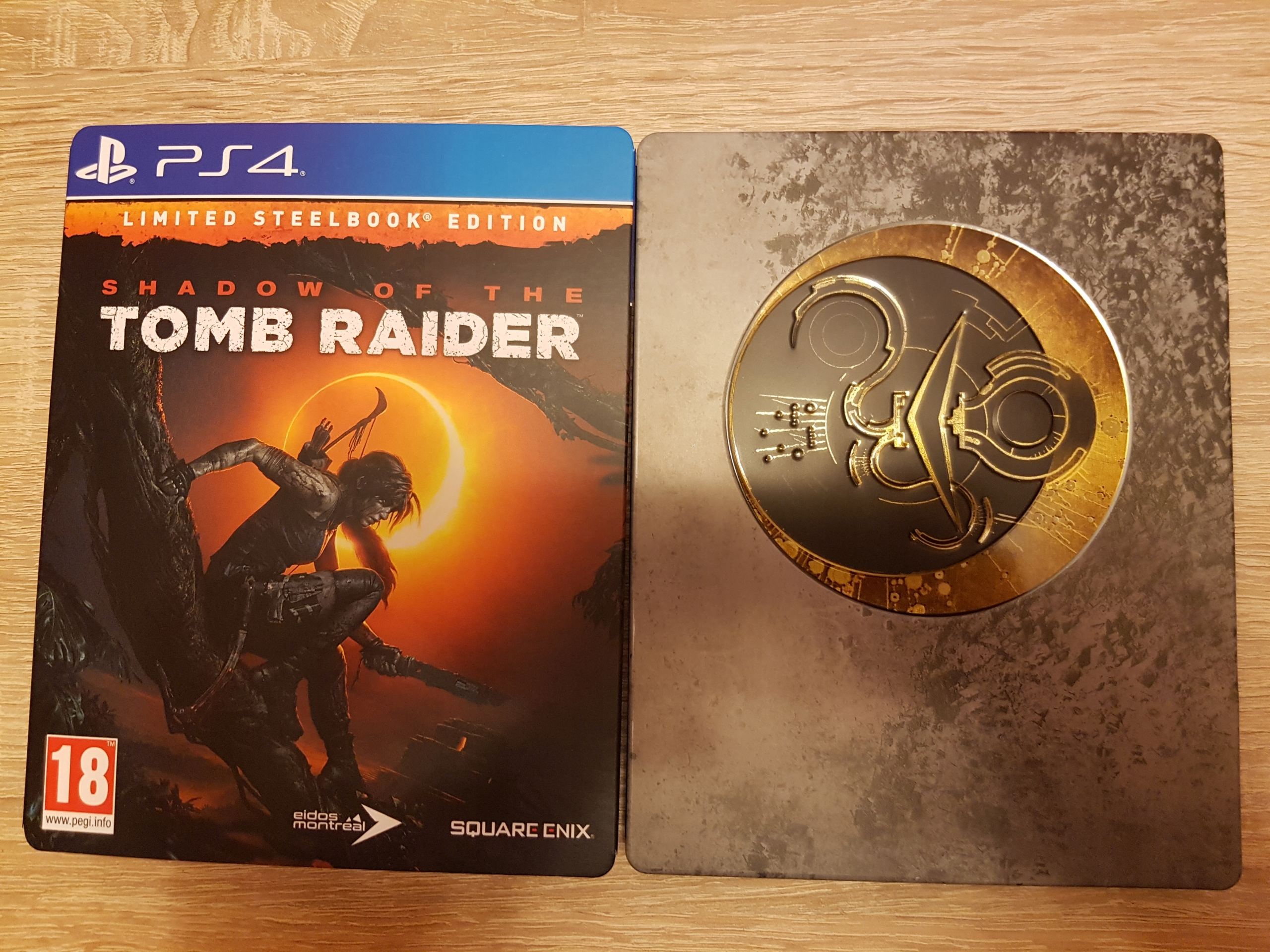 Shadow of the Tomb Raider PS4 PL/EN steelbook
