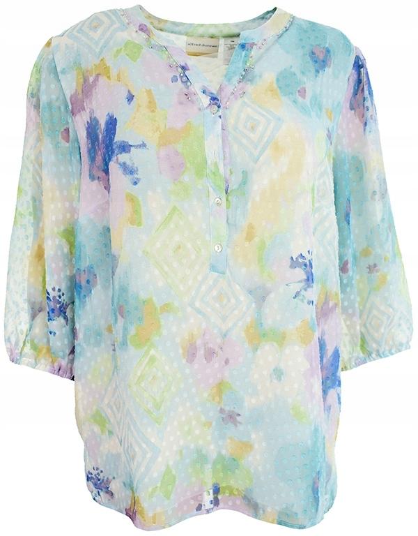 07f1b8ebc97a gK6364 kolorowa bluzka z cekinami 50 - 7527324542 - oficjalne ...