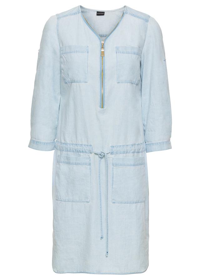 2bafc43f2f Sukienka niebieski 36 S 978647 bonprix - 7137368725 - oficjalne ...