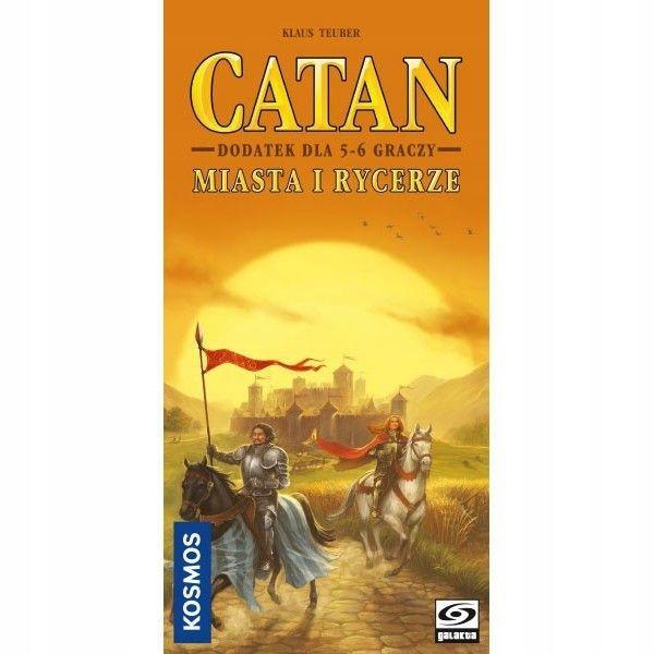 Galakta Gra Catan - Miasta i Rycerze dodatek