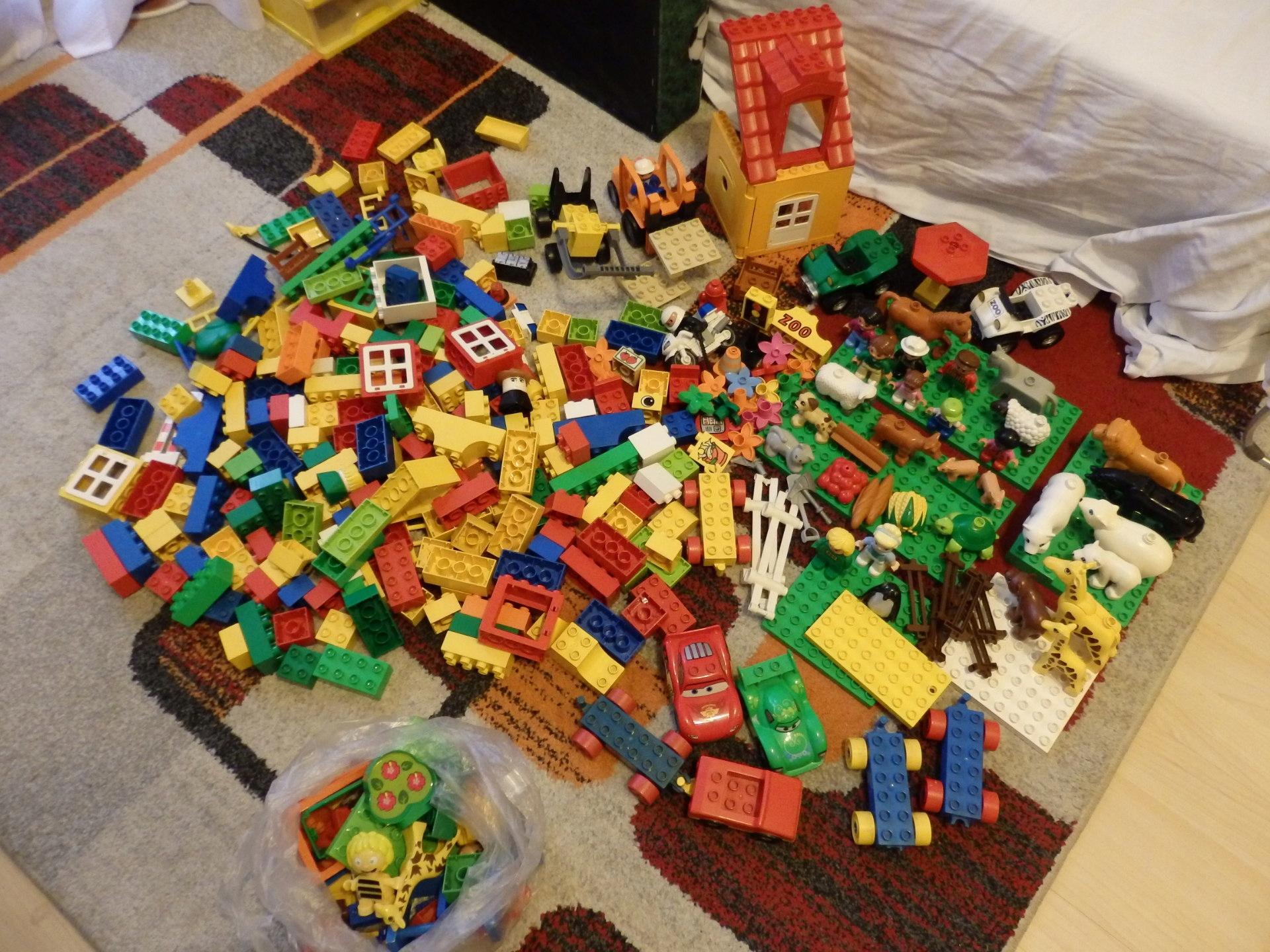 Lego Duplo Zwierzęta Zoo Dom Samochody Auta Farma 7434843263