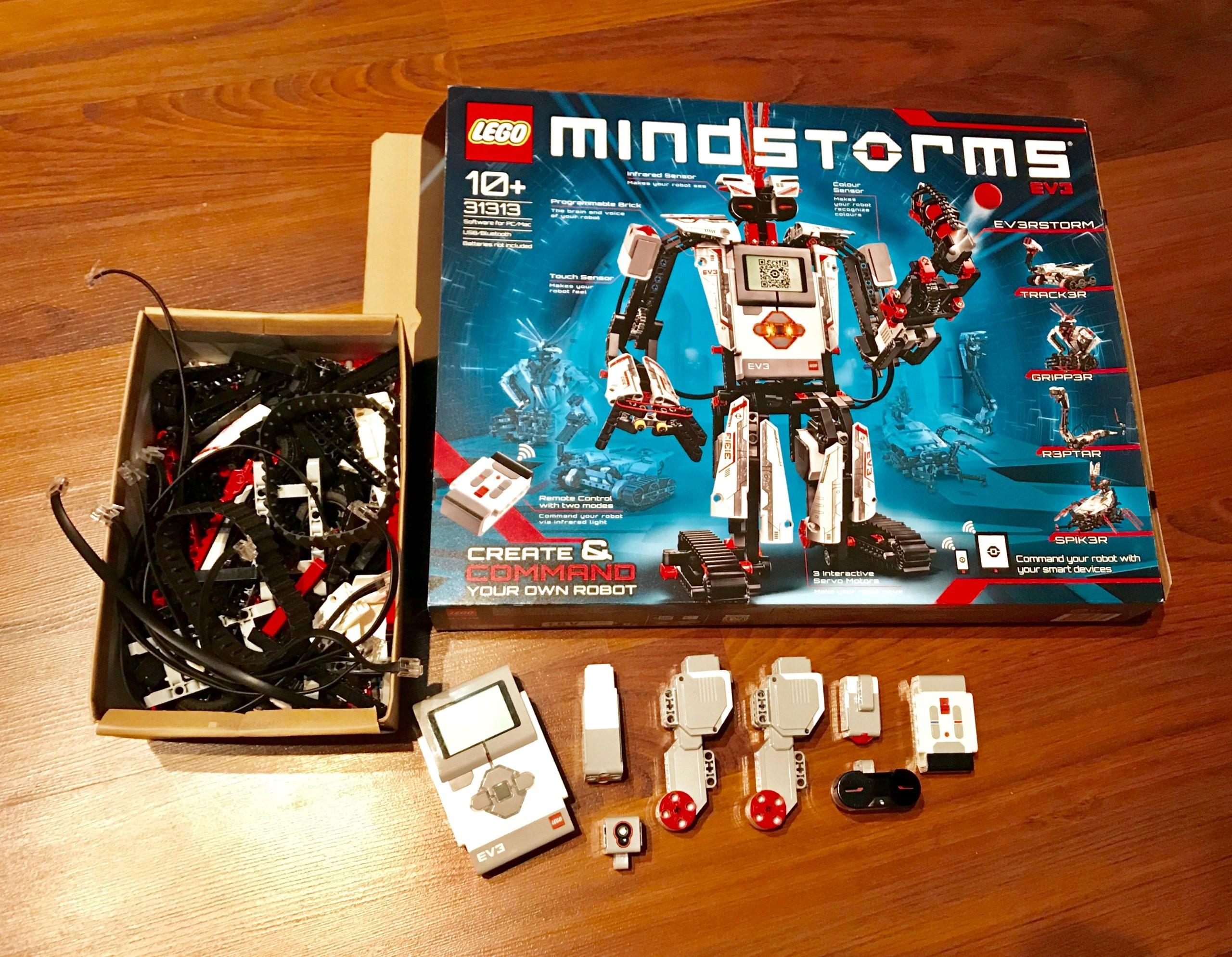 Lego Mindstorm Ev3 31313 Kompletny Zestaw 7414614893 Oficjalne