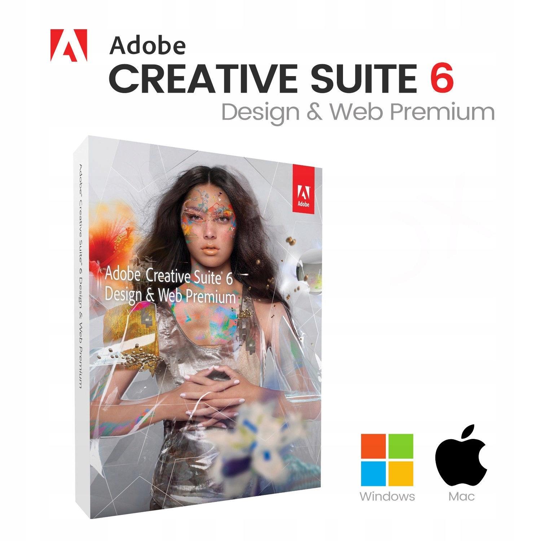 Adobe Creative Suite 6 Design & Web PremiumCs6 - 7532005702