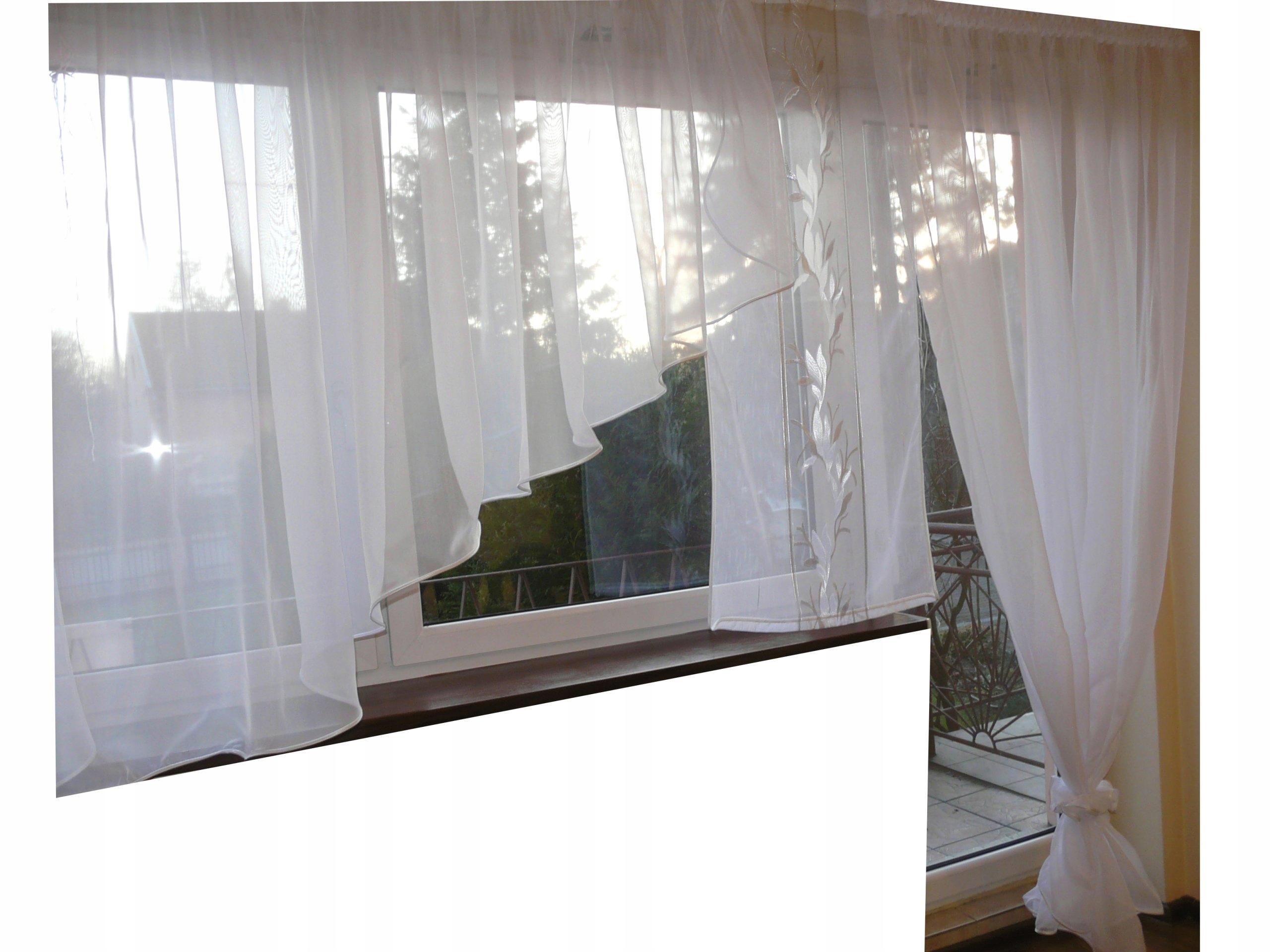 Firany Panel Kokon Woal Karnisz 25m 30m Balkon