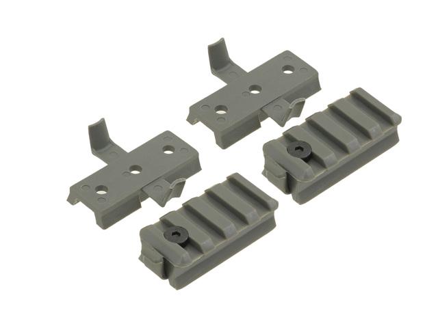 EMERSON - Zestaw adapterów do hełmów z szyną - Fol