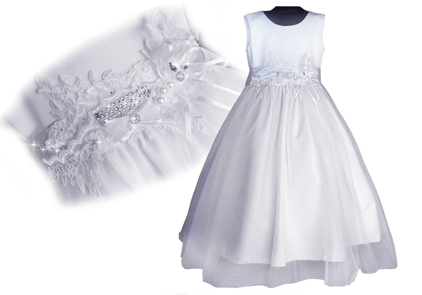 a15cc7d4dc PL Olśniewająca sukienka PRZEBRANIE KOMUNIA 56 - 7117147193 ...
