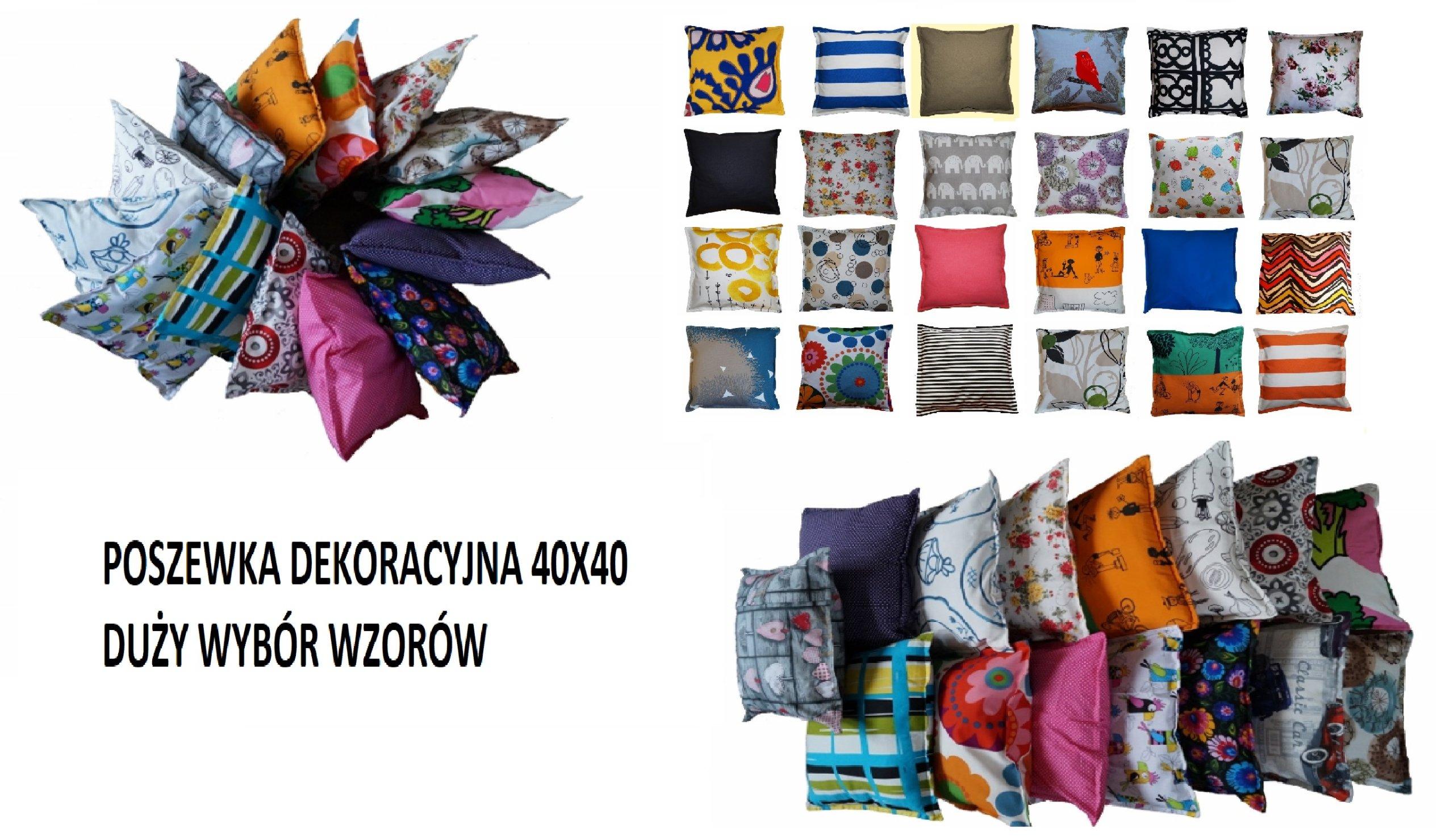 Poszewka Dekoracyjna 50x60 Poduszka Dużo Wzorów 7118904334