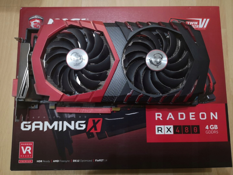 MSI Radeon RX 480 4GB Gaming X - 7524633525 - oficjalne