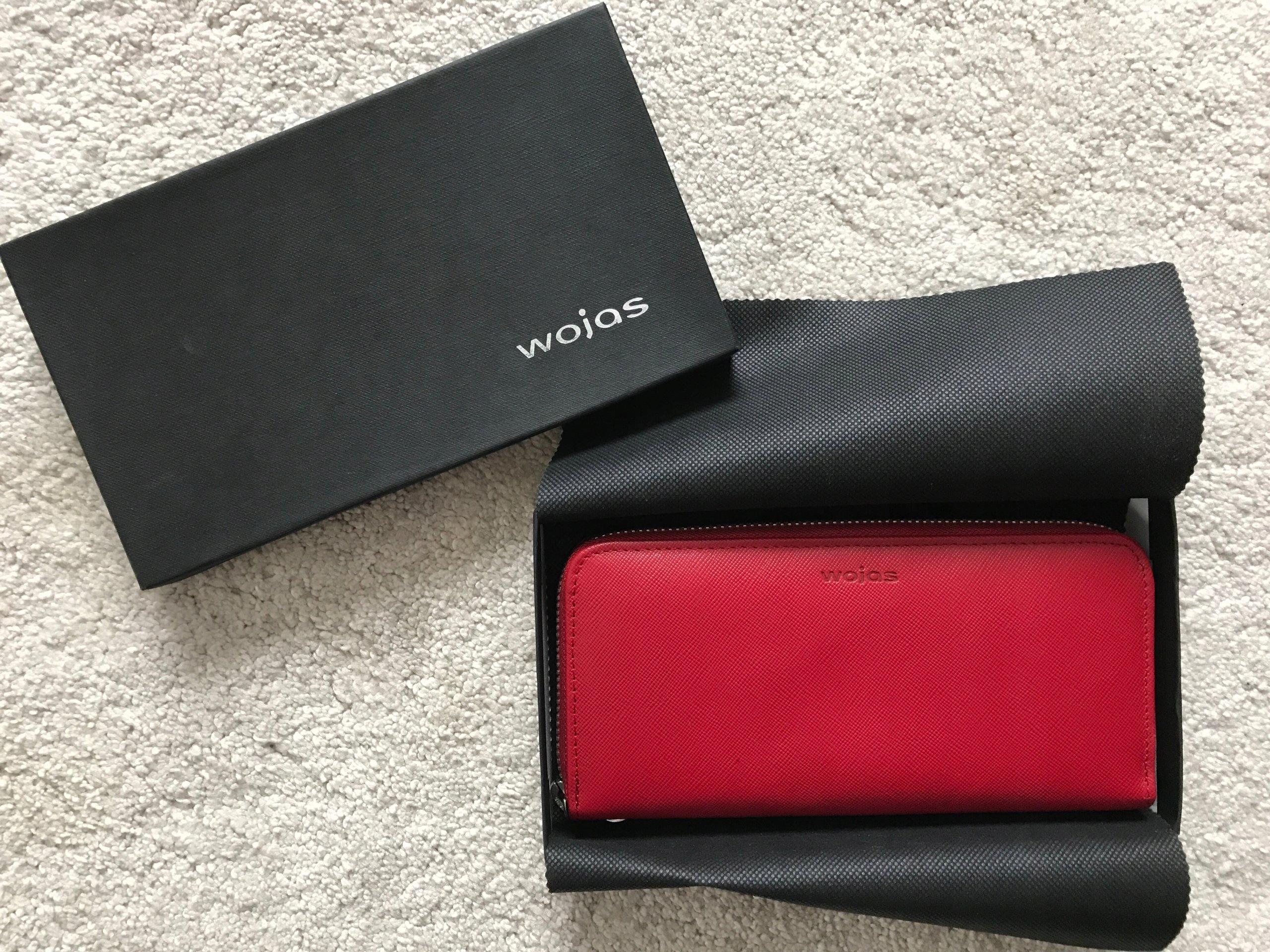 fba45435ac597 Wojas portfel damski, czerwony skóra, nowy prezent - 7445525153 ...