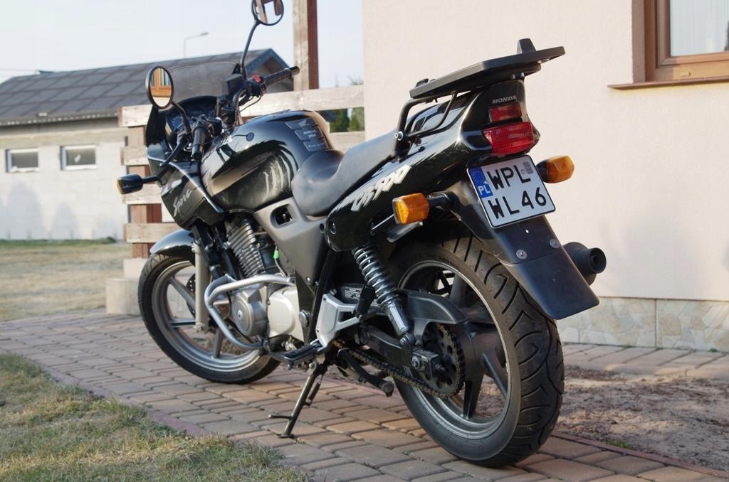 HONDA CB500S 1999r od Motocyklisty, NIEZAWODNA